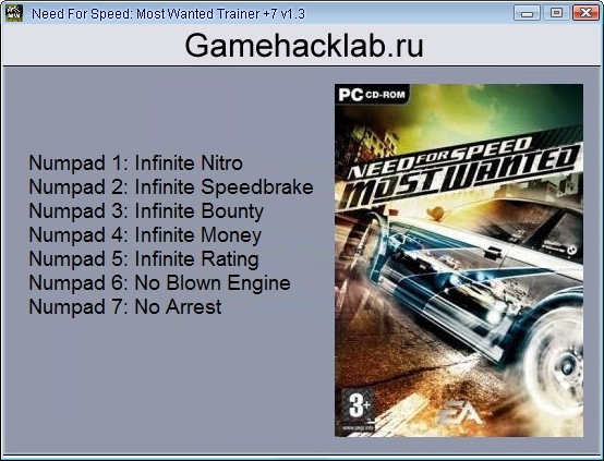 Скачать Читы На Need For Speed Most Wanted img-1