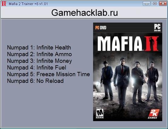 Mafia 2: трейнер/trainer (+4) [1. 0. 0. 1u5] {-al-ex-} читы чит.