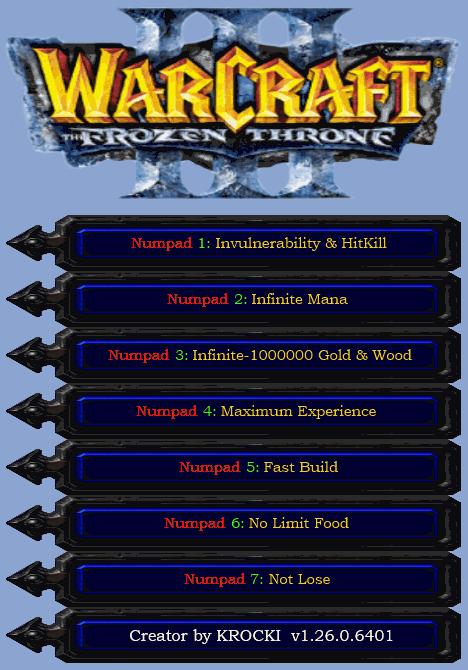 Скачать Читы Для Warcraft 3 Frozen Throne - фото 6