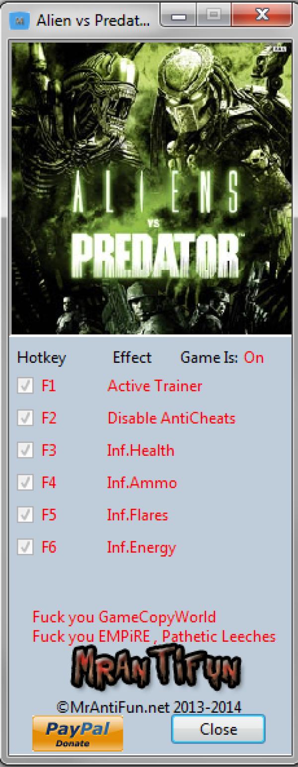Смотреть полную версию скриншота из игры aliens vs predators: evolution