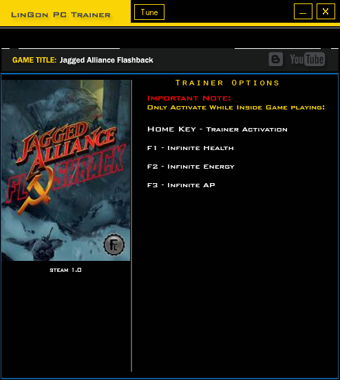 Jagged Alliance ~ Flashback: Трейнер/Trainer (+3) [1.0]