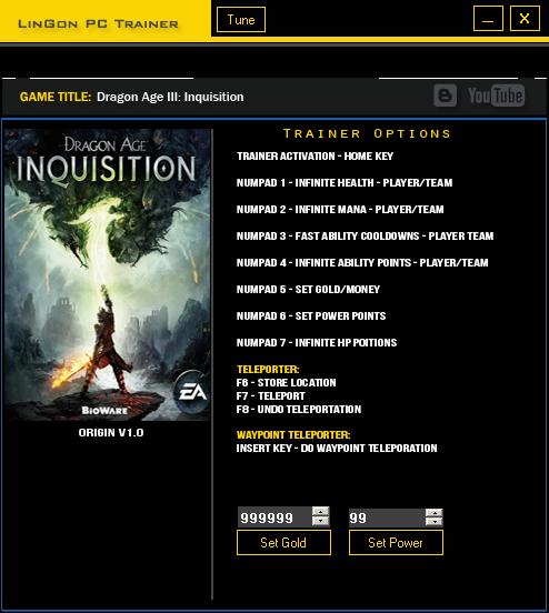 скачать трейнер для Dragon Age - фото 3