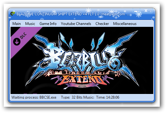 BlazBlue: Continuum Shift Extend: Трейнер/Trainer (+4) [1.0] {h4x0r}