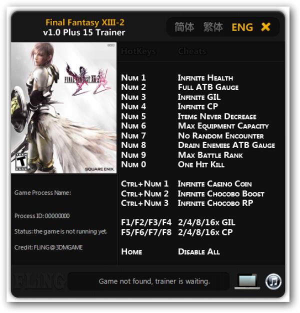 Final fantasy 13 2 casino cheats