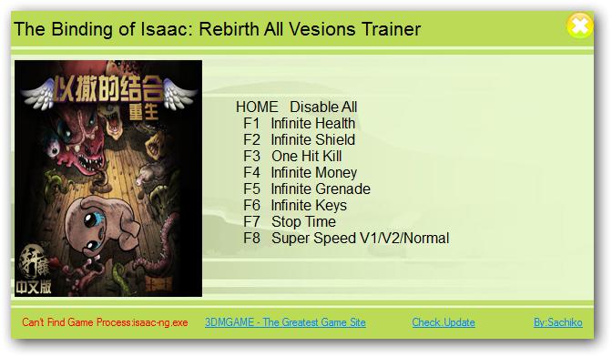 Binding of isaac: afterbirth+: трейнер/trainer (+4) [update: 05. 01.