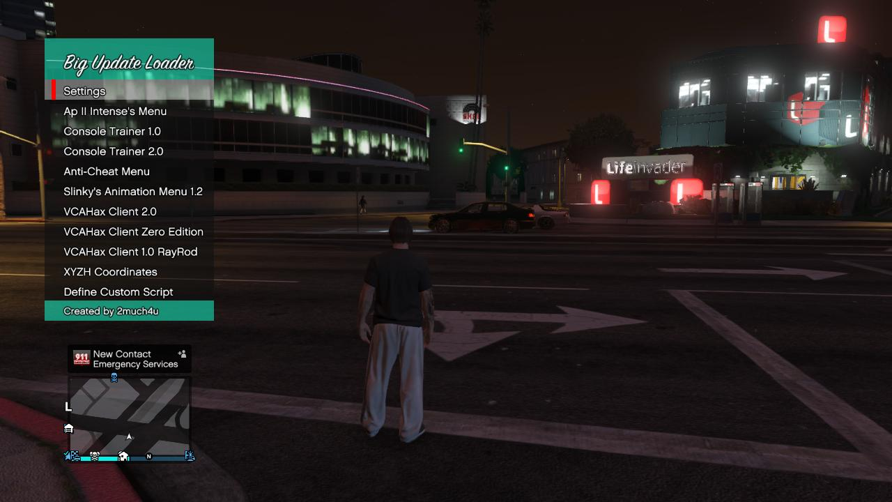 How to change the name of the gta mod menu