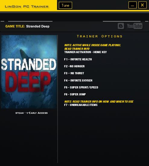 Скачать читы для stranded deep