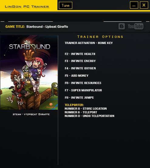 скачать читы для Starbound - фото 5