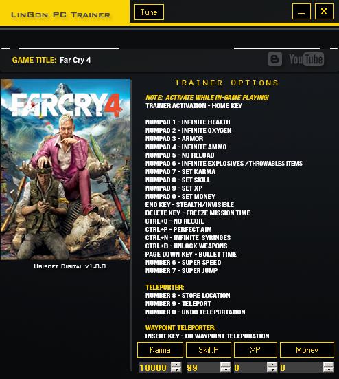 Скачать Трейнер Для Far Cry 4