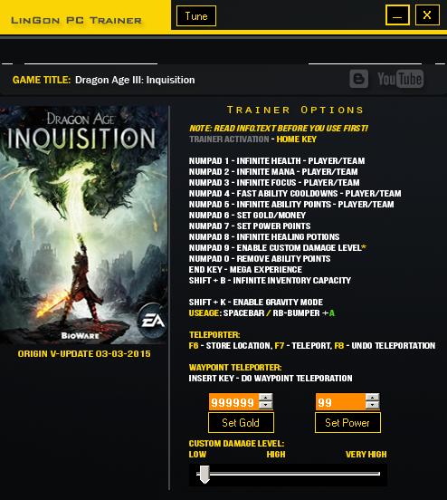 скачать трейнер для Dragon Age Origins - фото 11