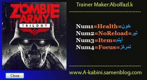 скачать трейнер на Zombie Army Trilogy - фото 4