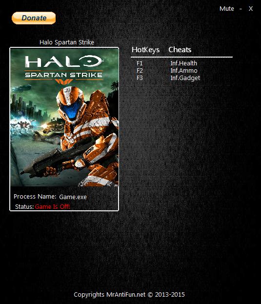 Halo: Spartan Strike: Трейнер/Trainer (+3) [1.0] {MrAntiFun}