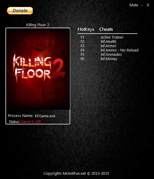 скачать трейнер для killing floor 2