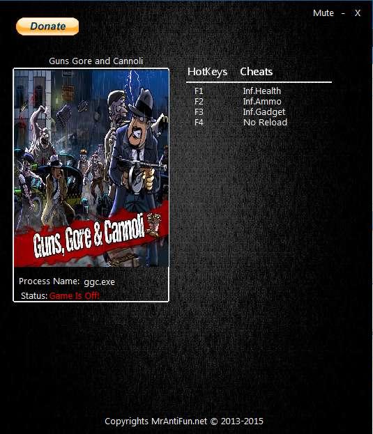 "—качать ""рейнер ƒл¤ Guns Gore And Cannoli"