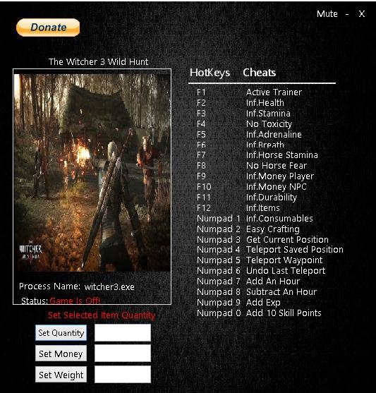 Скачать Читы Для Ведьмак 3 - фото 4