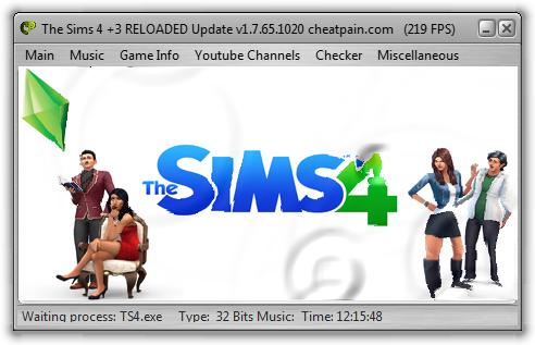 The Sims 4 : Трейнер/Trainer (+3) [Update 1.7.65.1020] {h4x0r}