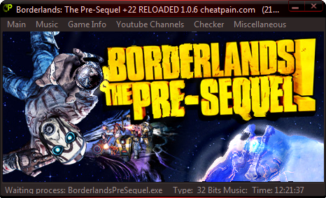 Borderlands: The Pre-Sequel: Трейнер/Trainer (+22) [1.06] {h4x0r}