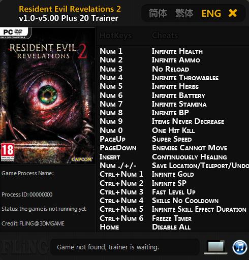 скачать resident evil 2 трейнер