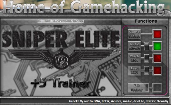 Sniper Elite V2 Скачать Трейнер - фото 9