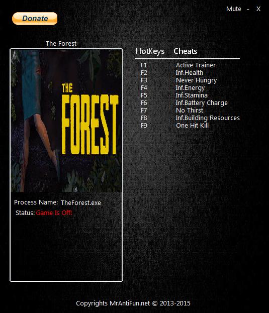 как скачать читы на The Forest - фото 6