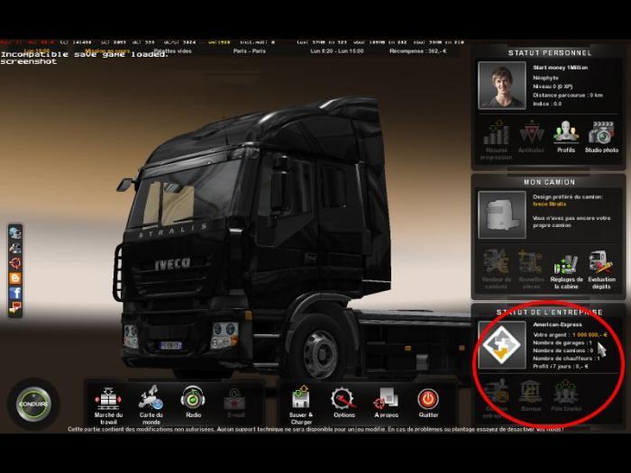 Коды на игру American Truck Simulator