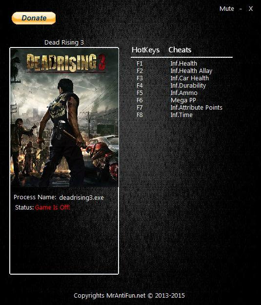 скачать трейнер для Dead Rising 3 Apocalypse Edition - фото 5
