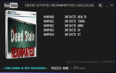 скачать трейнер dead state reanimated