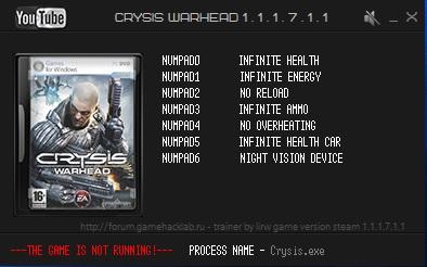 скачать читы на Crysis Warhead - фото 10