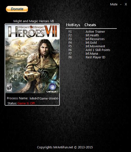 скачать трейнер для героев 6 бесплатно - фото 11