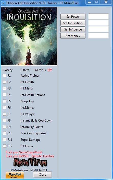 скачать трейнер для Dragon Age - фото 5