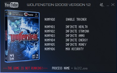 трейнер для Wolfenstein скачать - фото 8