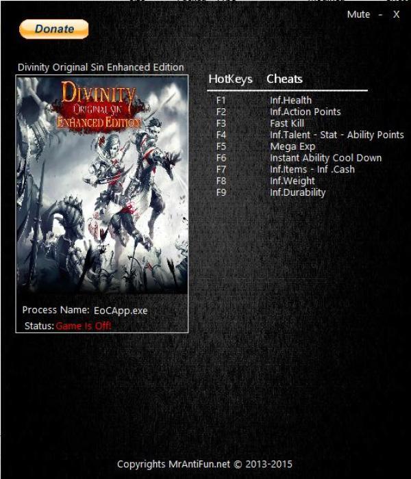 Divinity Original Sin Патчи 1 0 252 0