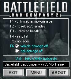 Battlefield 2 Bad Company 2 скачать читы - фото 4