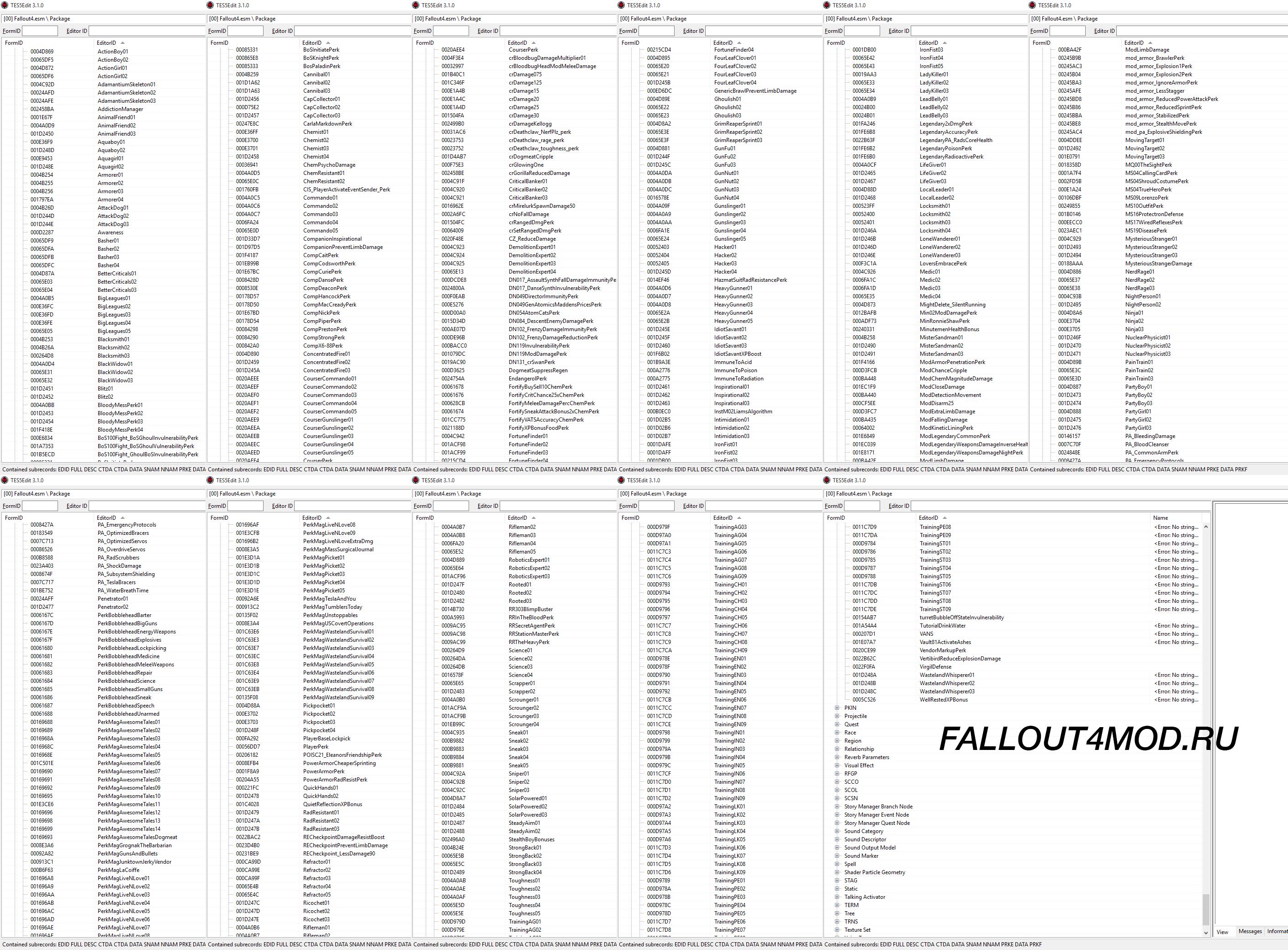 полный список квестов в фалаут4