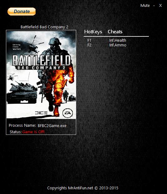 скачать трейнер для battlefield bad company 2 версия 795745