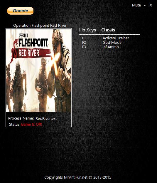 скачать трейнер для operation flashpoint 2 dragon rising