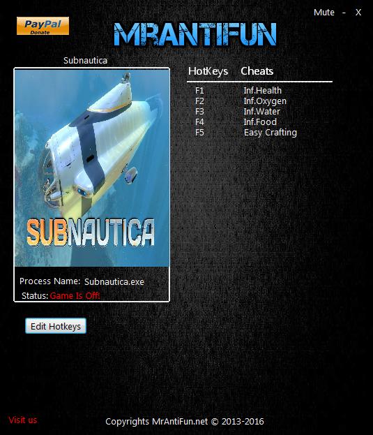 скачать читы на Subnautica - фото 2