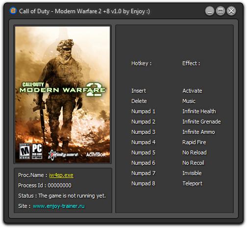 скачать трейнер для Modern Warfare 2 - фото 3