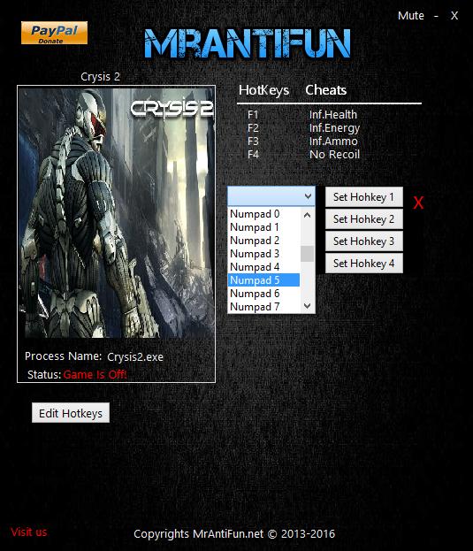 Скачать На Crysis 2 Трейнер - фото 10
