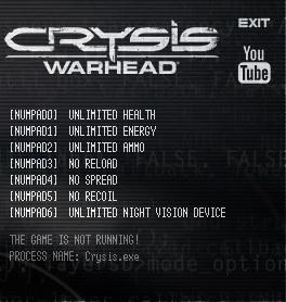 скачать читы на Crysis Warhead - фото 11