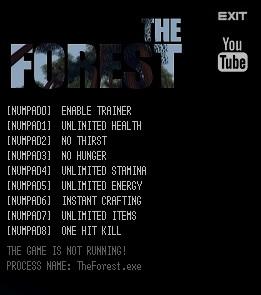 как скачать читы на The Forest - фото 3