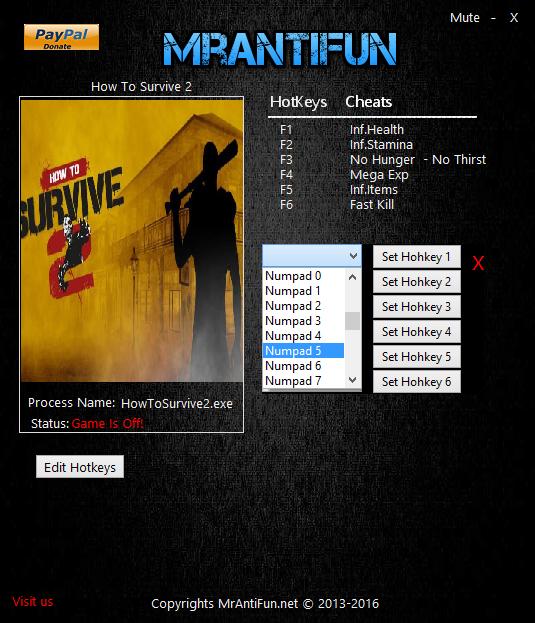 Скачать Трейнер How To Survive 2 - фото 2