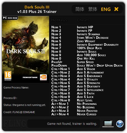 Скачать Читы На Dark Souls 3