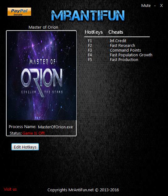скачать трейнер для Master Of Orion img-1
