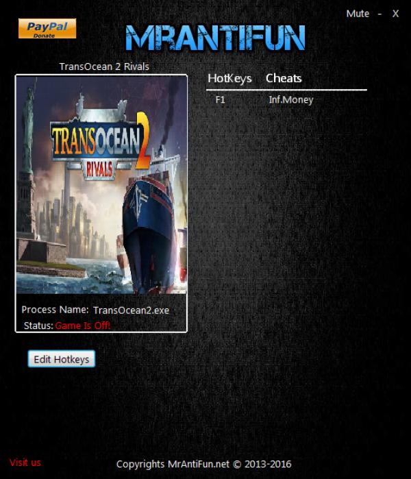 игры transocean