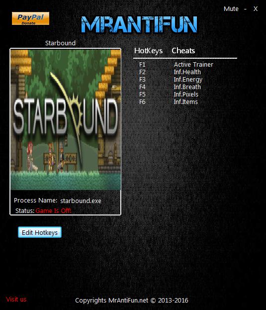 скачать читы для Starbound - фото 3