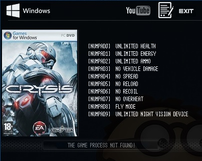 Game Trainers: Crysis: Warhead v1.1.1710 x64 (+7 Trainer ...