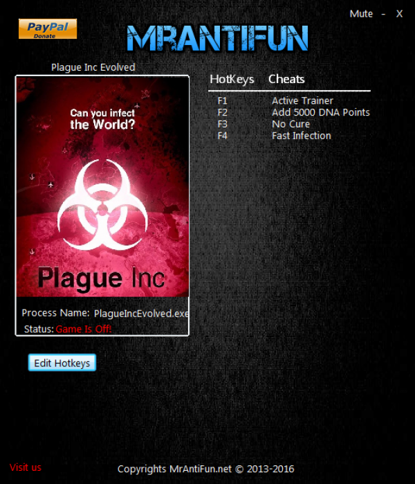 Чит коды на plague inc - ab