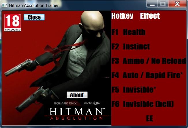 скачать трейнер для Hitman - фото 5
