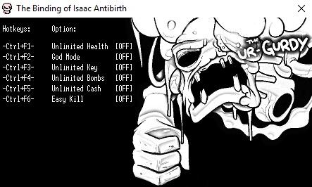 Секреты: трейнер (читы) для the binding of isaac: afterbirth.